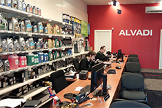 ALVADI store from inside